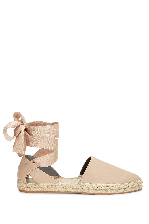 Vivian Flat Glitter Espadrille Sandals wehrj9P