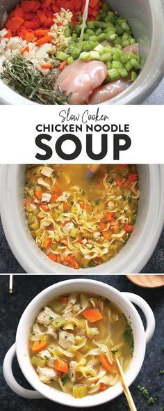 Chicken Noodle Soup  Creamy Chicken Noodle Soup