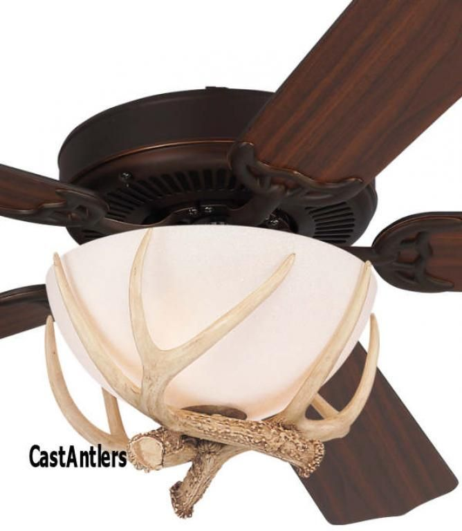 52 Rustic Faux Flush Antler Ceiling Fan Rustic Ceiling Fan Rustic Pendant Lighting Ceiling Fan