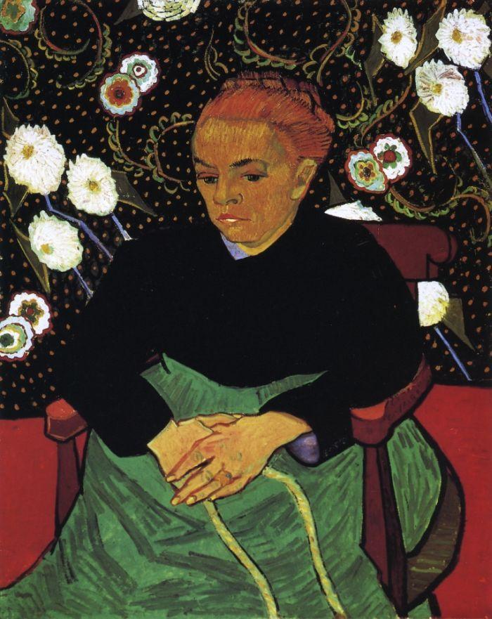 La Berceuse, Portrait of Madame Roulin by Vincent van Gogh 1889