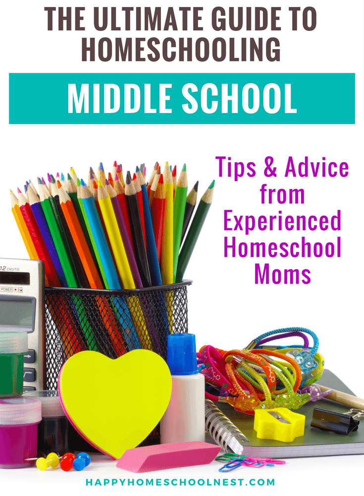 The Ultimate Guide to Homeschooling Middle School (With ...