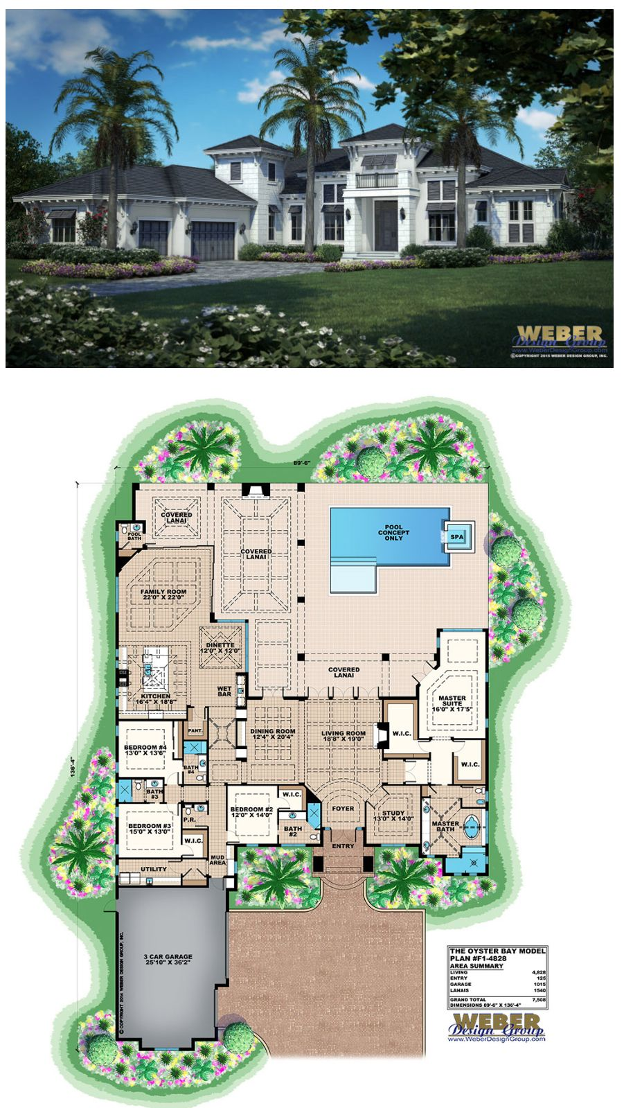 West Indies House Plan Coastal Contemporary Home Floor Plan Florida House Plans Mansion Floor Plan House Plans