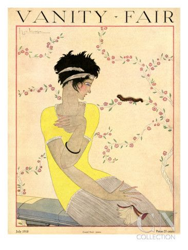 Vanity Fair Cover - July 1918  by Georges Lepape a
