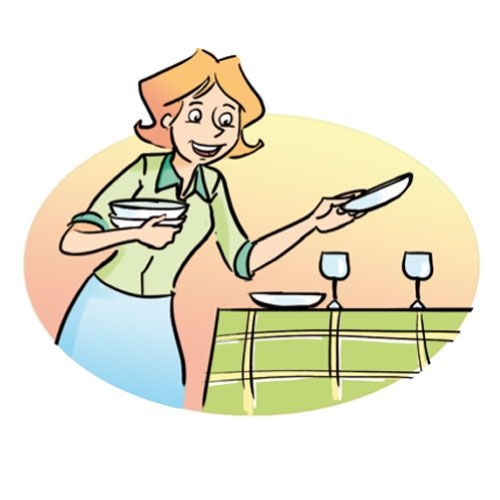 clear table clipart - Google Search : La casa : Pinterest ...