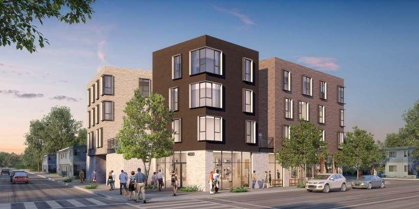 Y M Architects Mid City Affordable Housing Multifamily Housing