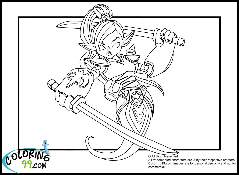 skylanders giants pages to coloring pictures to print | Skylanders ...