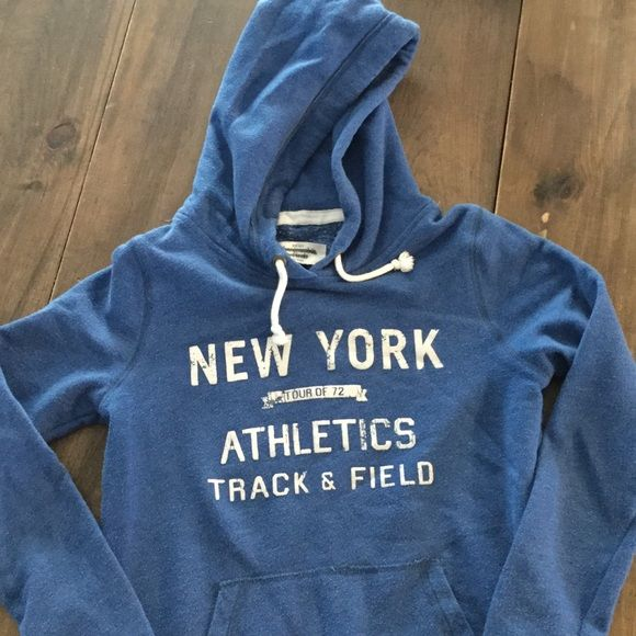 Abercrombie & Fitch blue medium hoodieSALE Abercrombie and Fitch royal blue medium hoodie. Great preowned condition. Abercrombie & Fitch Tops Sweatshirts & Hoodies