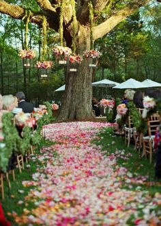 Events Style - 15 spring outdoor wedding decorations