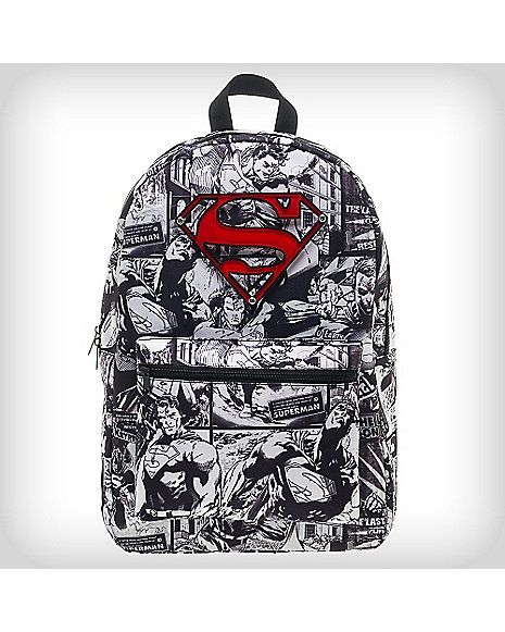 Backpacks Women Men Comics Hero Superman Backpack Daily Backpack School Backpack For Teenage Girls Boys Kids School Bags Gift Bookbag
