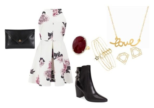faun by timmology on Polyvore featuring Cameo, Yves Saint Laurent, Vivienne Westwood, Minnie Grace and Accessorize
