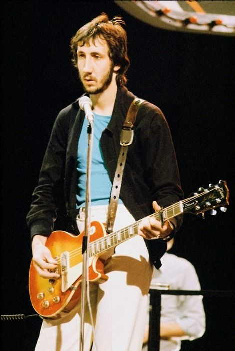 Pete Townshend Let My Love Open The Door To Your Heart Pete Townshend Townshend Best Guitar Players