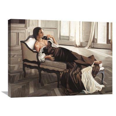 Global Gallery 'Appassionata' by Pierre Benson Painting Print on Wrapped Canvas Size: