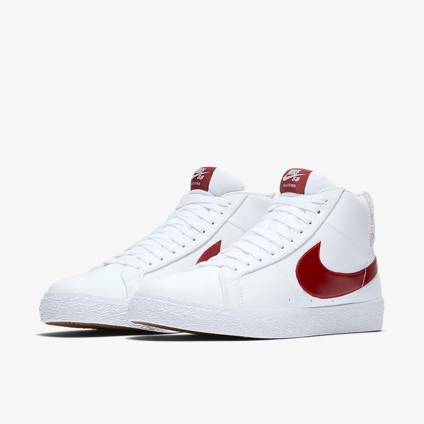 Nike SB Zoom Blazer Mid Premium Skate Shoe. Nike.com | Skate shoes ...