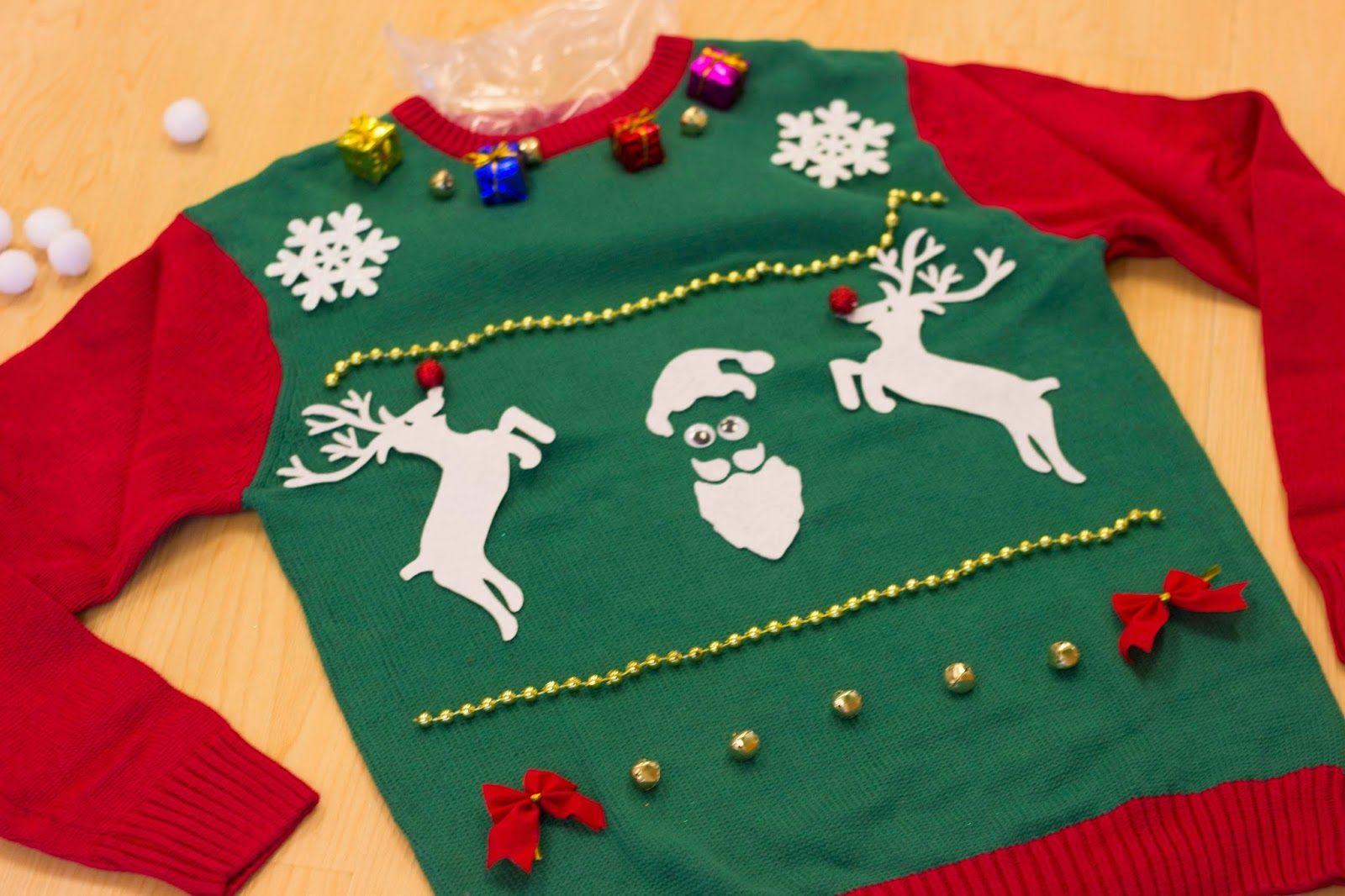 Image result for diy christmas sweater Christmas