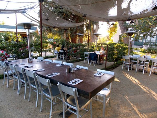 Rustic Outdoor Restaurant Patios