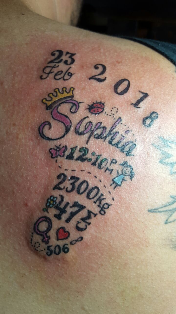 Tatuaje Pie De Bebé Tattoos Tatuagem