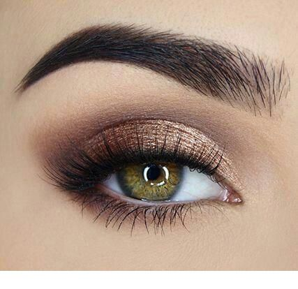 pretty eye makeup for green eyes  bronze eye makeup rose