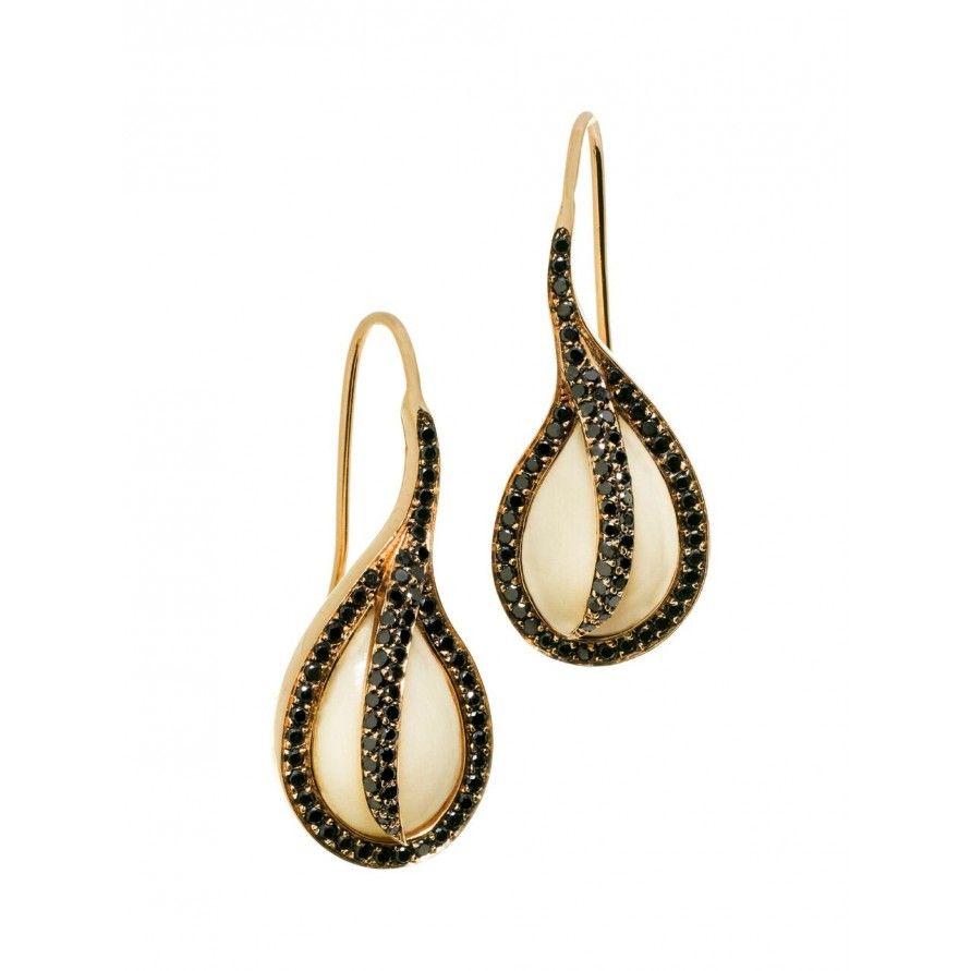 Mammoth Ishq earrings by Ana-Katarina Vinkler-Petrovic