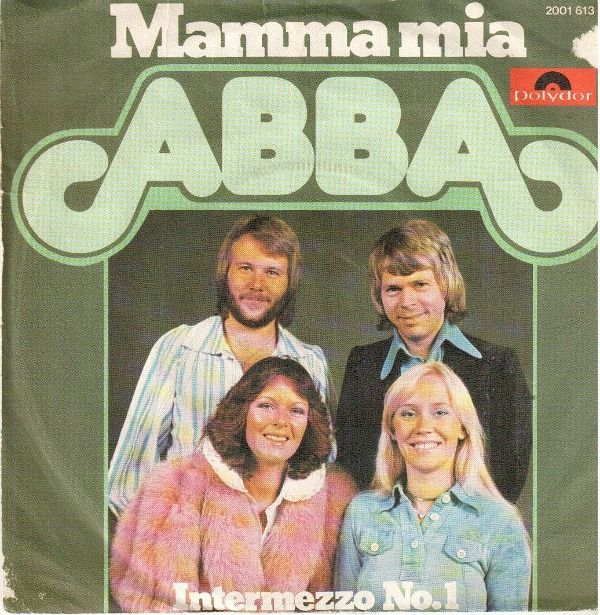 Abba Mamma Mia Single 1975 Polydor Abba Album Covers Best