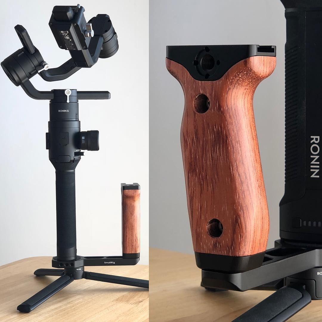 Universal Wooden Side Handle For Dji Ronin S Ronin Sc Zhiyun Crane