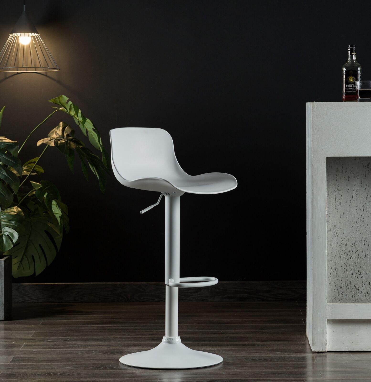 Set Of 2 Modern Bar Stools Adjustable Swivel Counter Height Bar Chairs Black 89 99 Modern Chair Ideas Of Modern C Modern Bar Stools Modern Bar Bar Stools