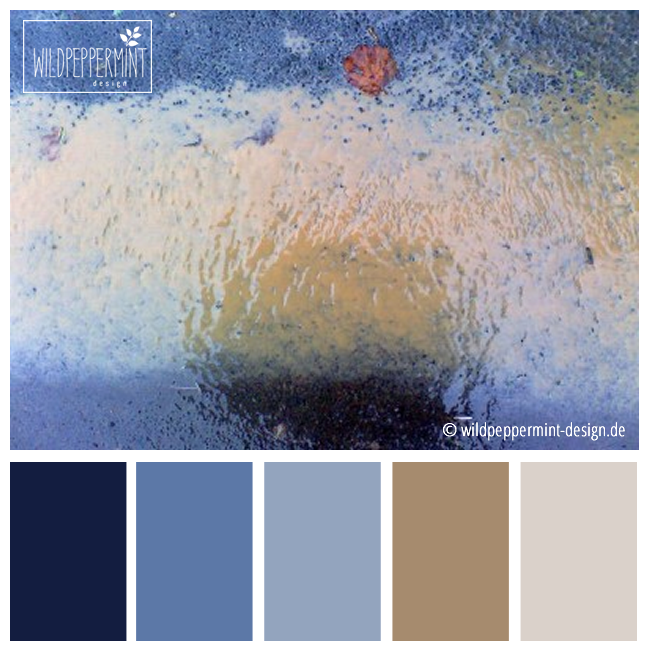 gedeckte farben farbpalette farbinspiration blau beige braun ich nenne - Farbpalette Blau
