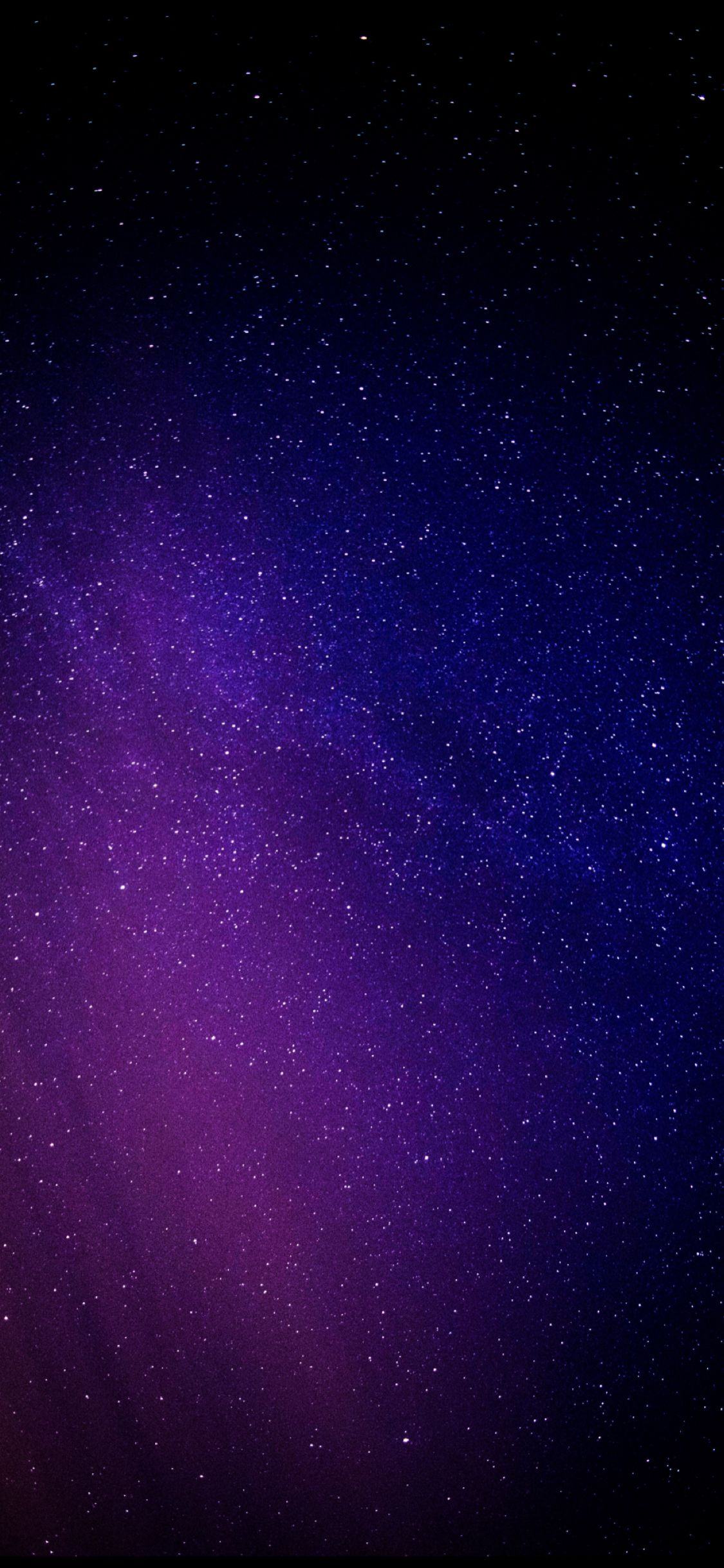 Starry night, purple light Papel de parede do telefone
