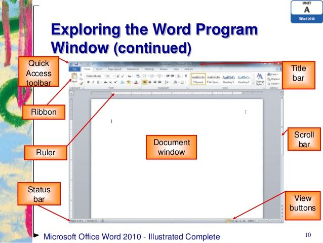 Word Window 10 Program Diagram Yahoo Image Search Results Microsoft Office Word 2010 Words Image Search