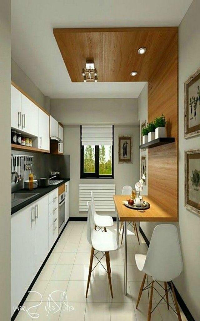 55 Small Kitchen Design Ideas On Apartment Http Coziem Com Index Php 2019 04 20 55 Small Kitche Small Kitchen Decor Kitchen Design Small Small Kitchen Tables