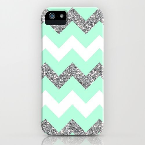 official photos 78a6c 2303a amazon ipod 5 cases for girls | seafoam glitter chevron iPhone ...