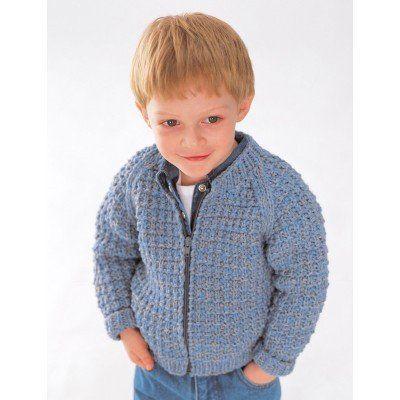 Patons Astra Easy Zip Jacket | Knitting patterns | Pinterest