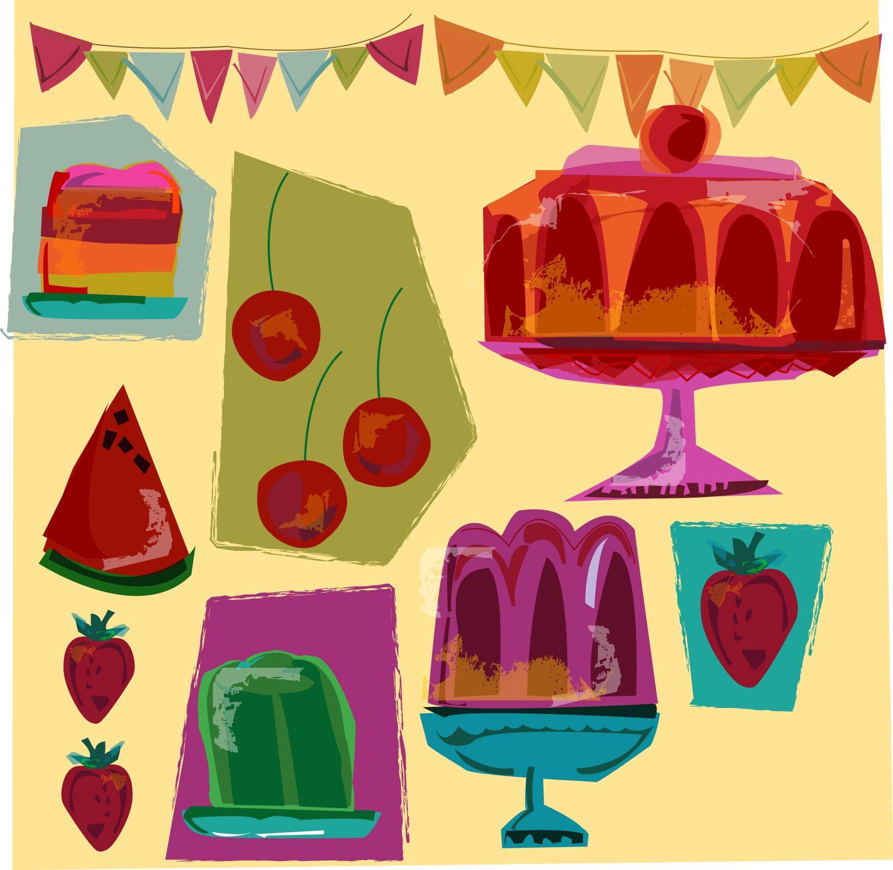 Jelly print by Gaby Braun