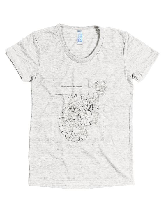 "d2264f4438a7 Memory Of A Hand Grenade. Heart Like An Elephant."" T-Shirt by Bob ..."