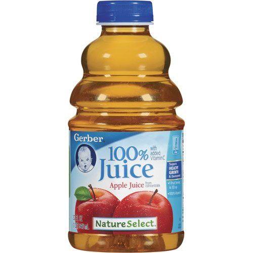 Gerber Nature Select Baby 100 Fruit Juice 32 Fl Oz (Pack