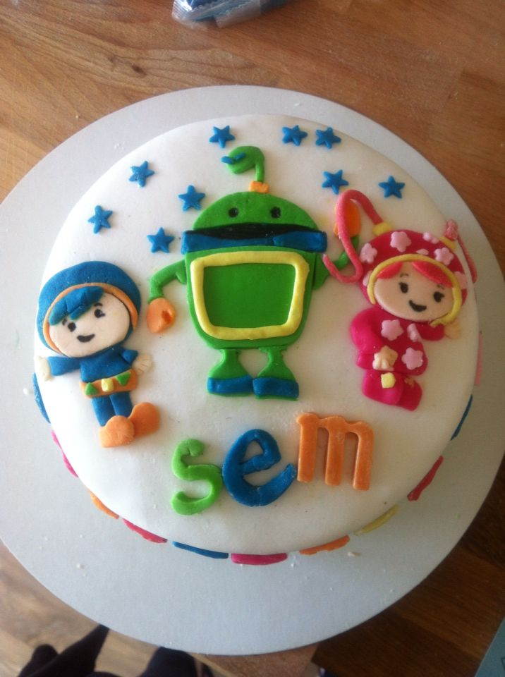 Umizoomi-1 cake / taart