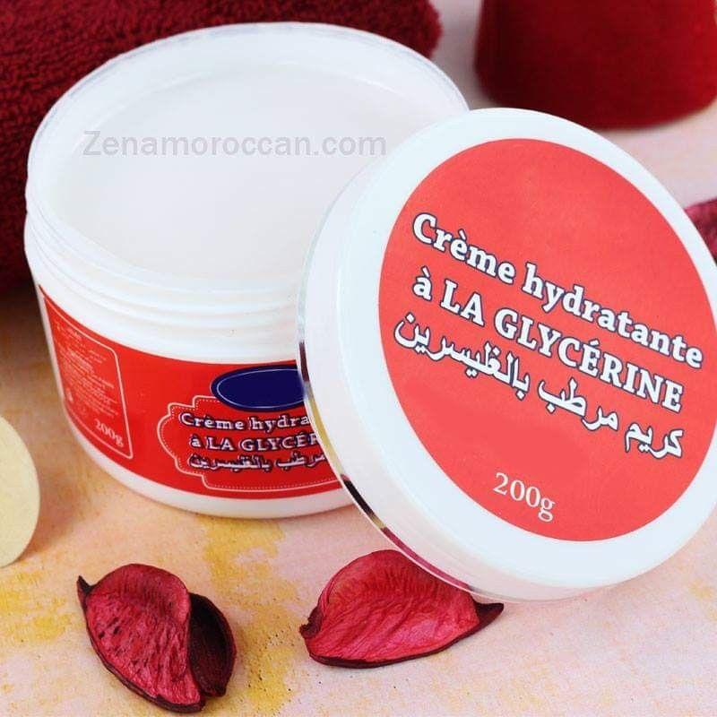 كريم مغربي مرطب بالجليسرين طبيعي Natural Cosmetics Creme Black Soap