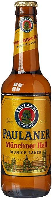 Bia Paulaner Munchner Hell 4,9% - Chai 330ml