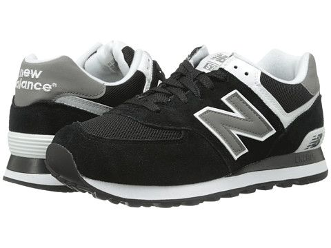 zappos new balance black