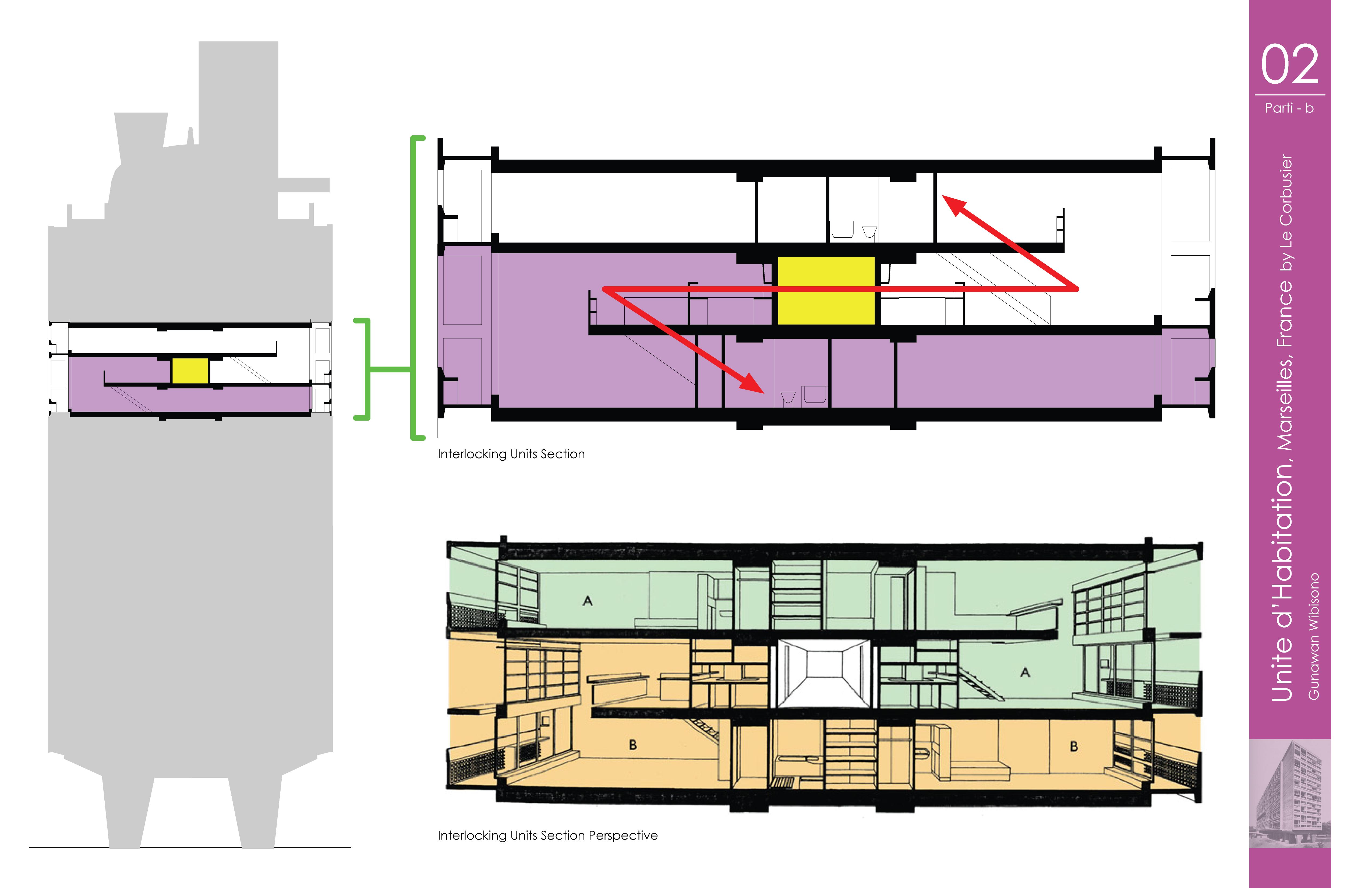 Unite d 39 habitation 2 pinterest for Plans de maison d habitation