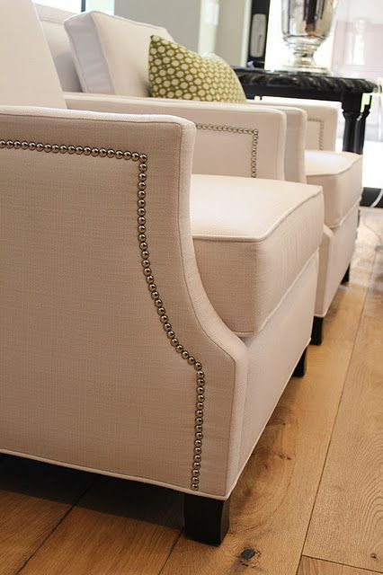 white studded chairs | home | living | Rooms home decor ...