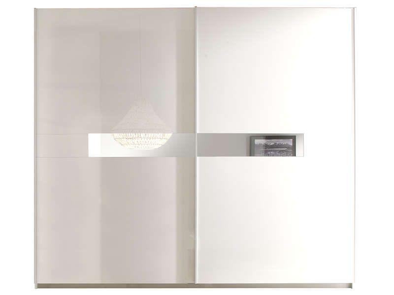 Armoire 2 portes coulissantes LIDIA - Armoire Conforama - Conforama Meuble De Cuisine