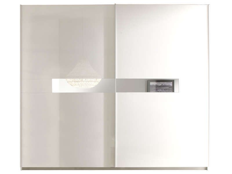 Armoire 2 portes coulissantes LIDIA - Armoire Conforama