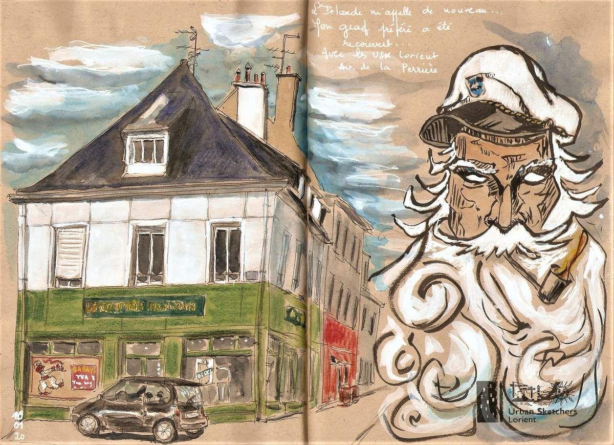 Lorient Comptoir Irlandais Carnets De Vie Comptoir Irlandais Vendredi Matin Irlandais