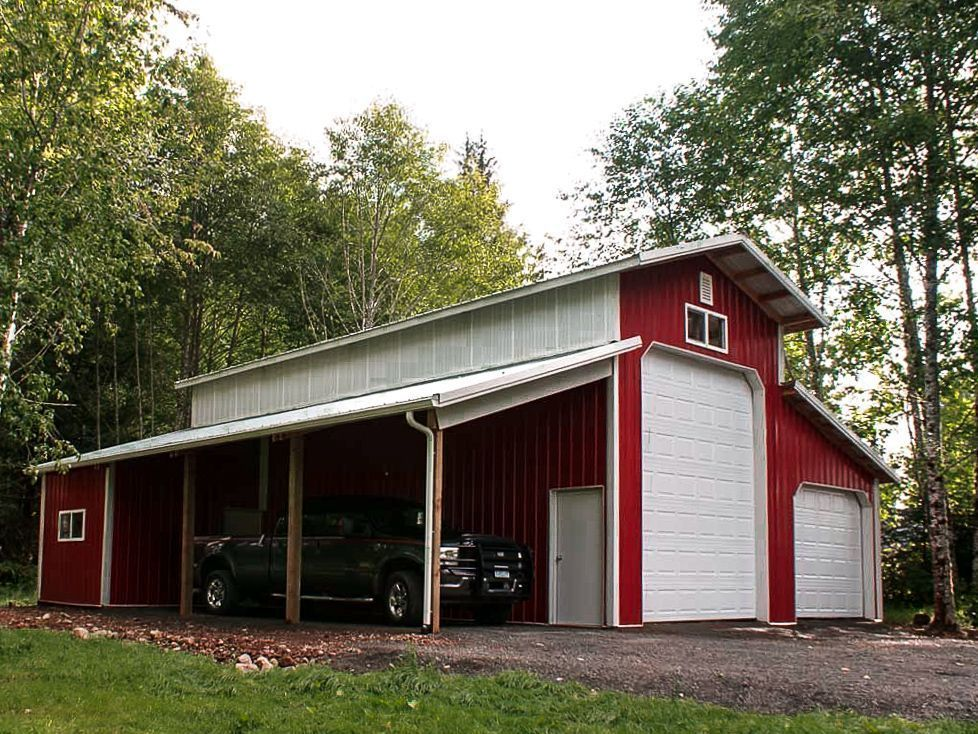 DIY Garage A DIY pole barn garage 40 x 40 x 10 Monitor Building DIY Garage A DIY pole barn garage 40 x 40 x 10 Monitor Building DIY Garage A DIY pole barn garage 40 x 40...