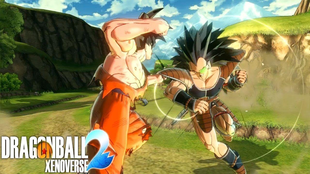 Dragon Ball Xenoverse 2 Raditz Fight Make Way Rookie Time Patroller Her Dragon Ball Fight Make Way