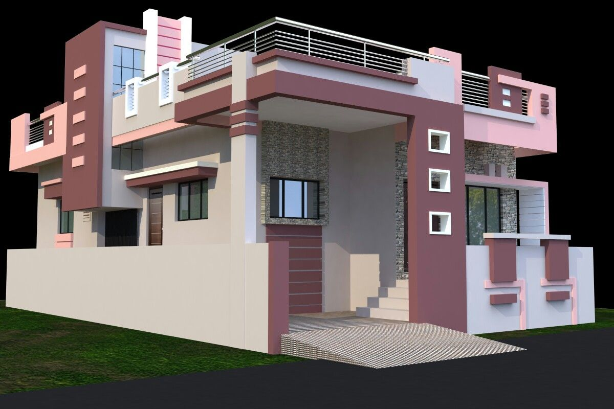 Siddhi front elevation designs house elevation house front design modern house design