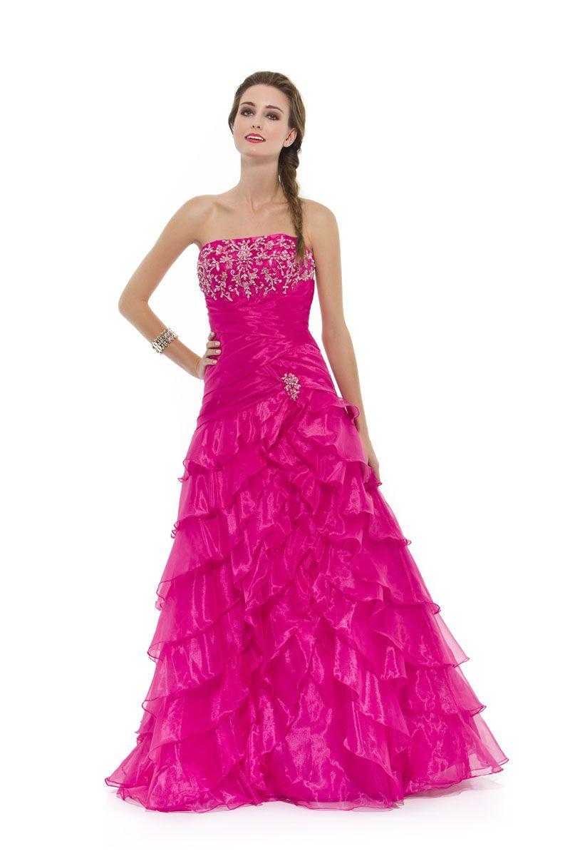 vestido princesa do reino das rosas | Очень красивые женские платья ...