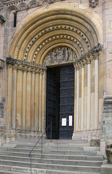 Duomo di Bamberga - Portale di Maria