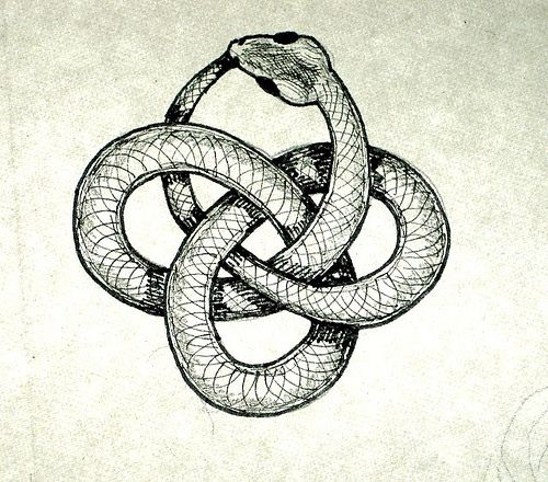 The Ouroboros Is A Symbol That As Carl Jung Said Has Great