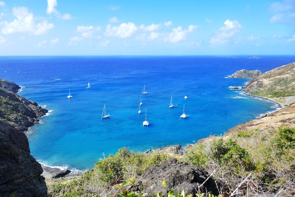 Back in Antigua  First sail of the year!